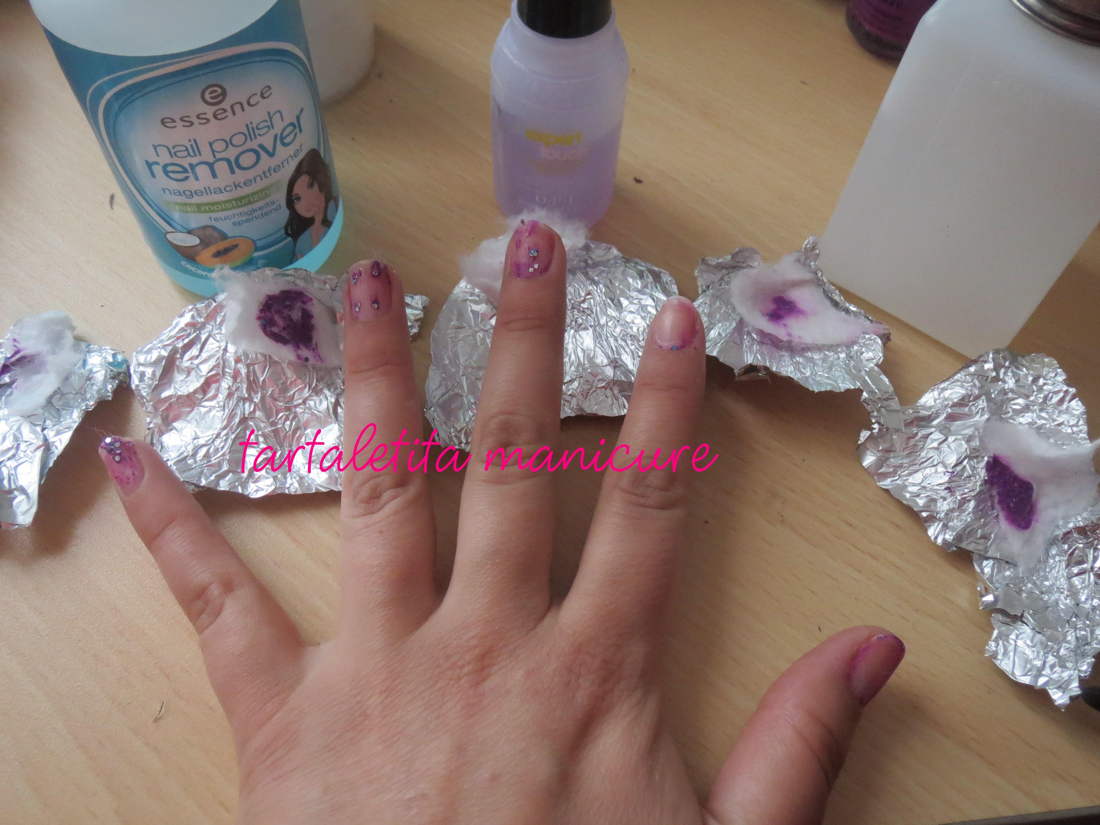 Como quitar el esmalte con glitter sin dañar la uña – Review ...